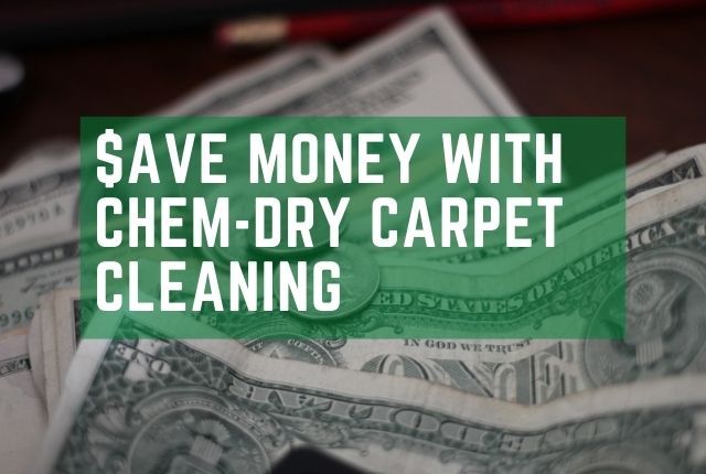 save money with chem-dry